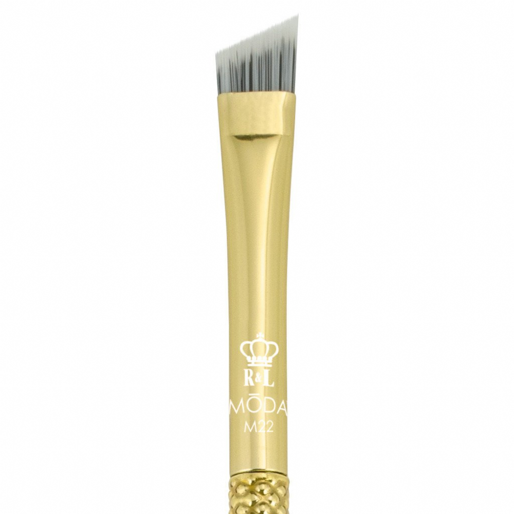 Royal Langnickel Moda Metallic Brow Brush Gold